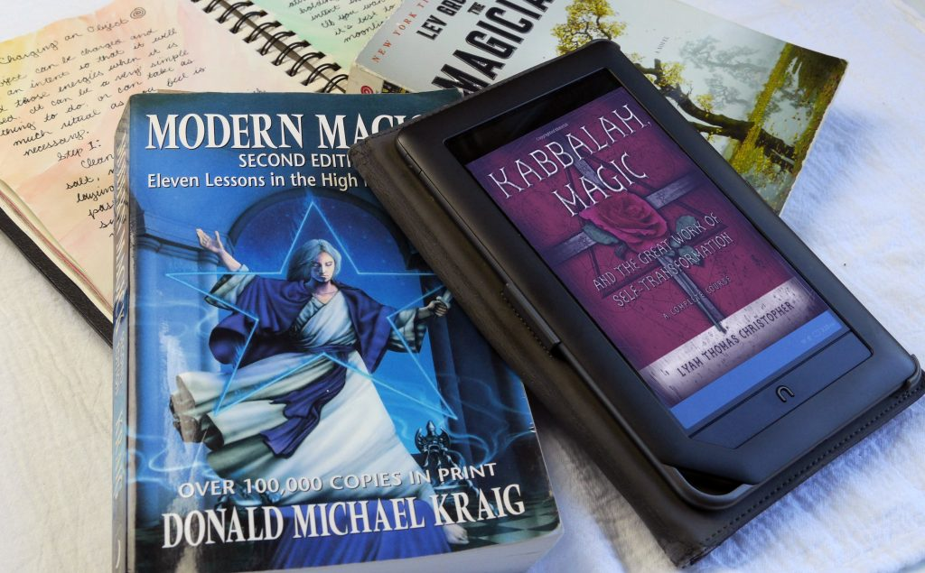 Modern Magick book, Nook, Kindle, e-reader, Kaballah Magic, The Magicians
