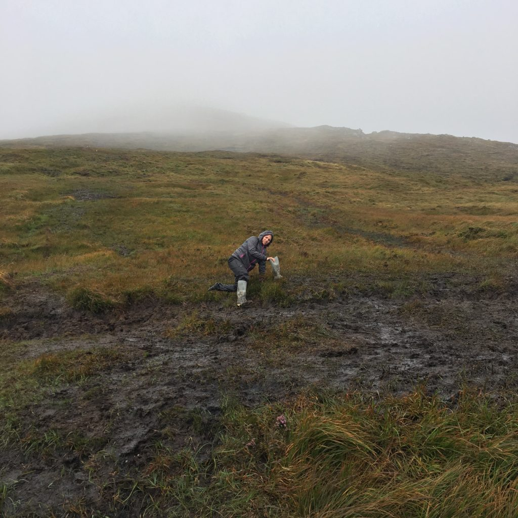 Blythe stuck in the muddy bog.